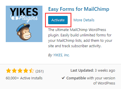 mailchimp-to-wordpress-activate-installed-plugin