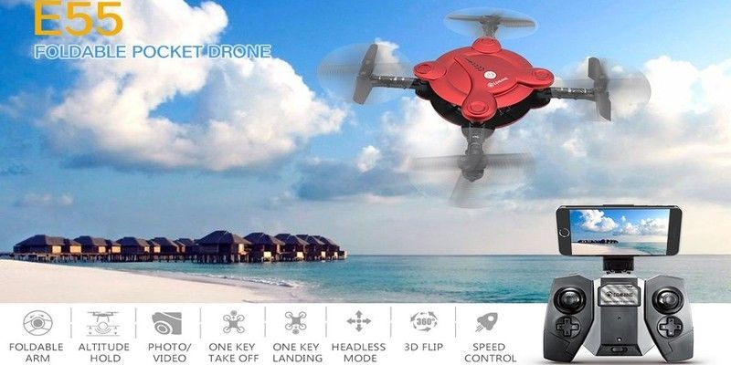 Eachine E55 Mini Nano Quadcopter with Camera – Review and Giveaway