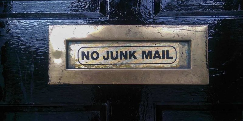 No Junk Mail Featured