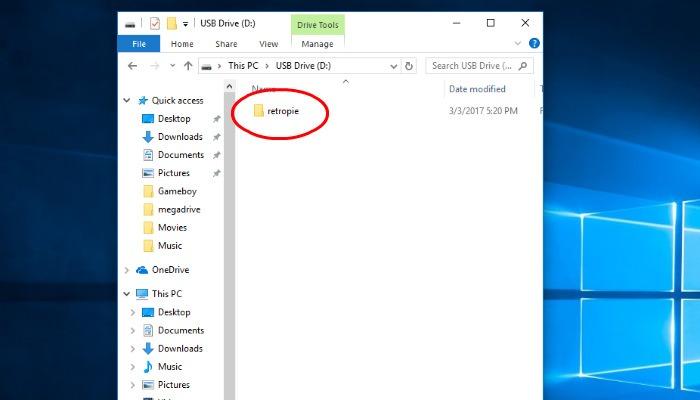 retropie-folder-root