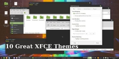 10 Great XFCE Themes for Linux XFCE Users