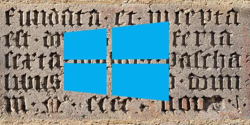 how to change the font of windows 10