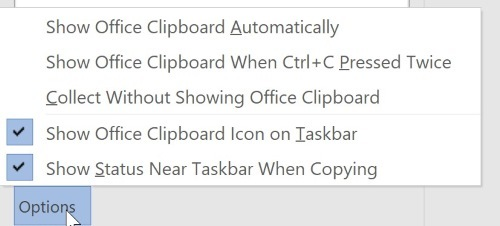 office-clipboard-options