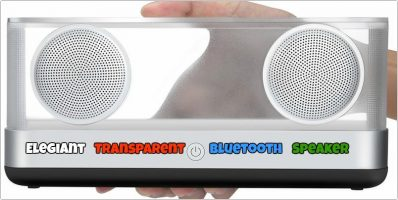 Elegiant Transparent Bluetooth Speaker with Super Bass – Review and Giveaway