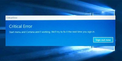 Start Menu Not Working in Windows 10? Here's How to Fix it