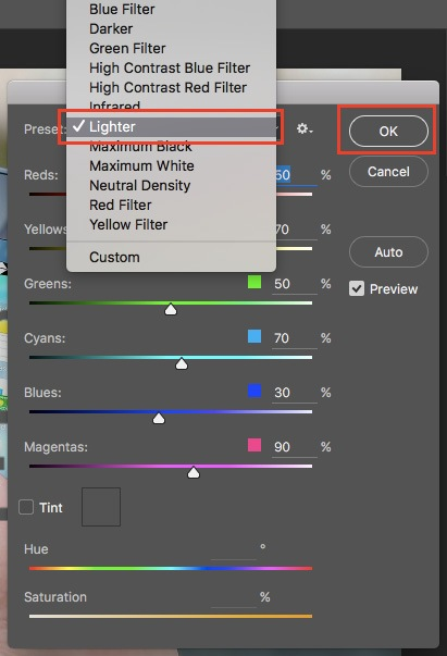 how-to-watermark-black-white-settings
