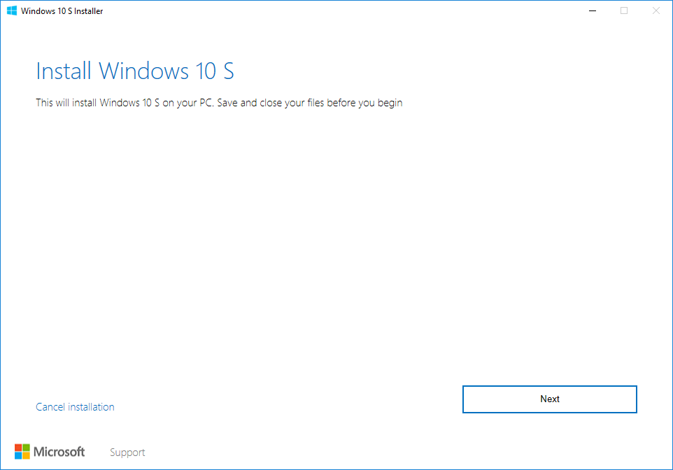 install-windows-10-s