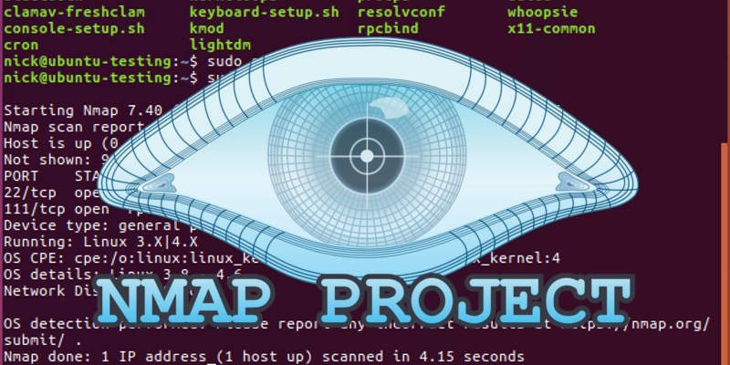 How to Use NMap to Check Your Linux Computer for Open Ports - Make
