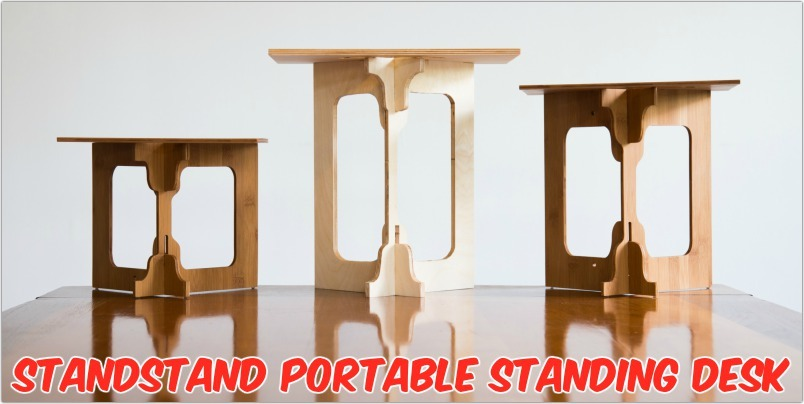 StandStand: A Beautiful, Easy-to-Use Portable Standing Desk