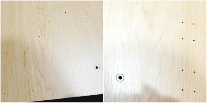 vertdesk-predrilled-holes