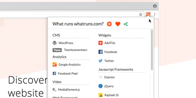 whatruns-featured