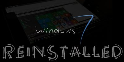 How to Downgrade Windows 10 and Reinstall Windows 7