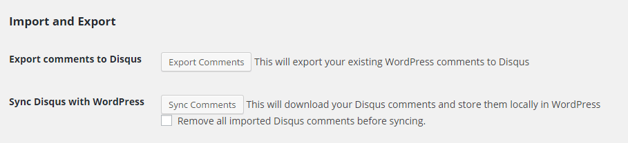 disqus-import-export