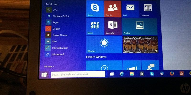 How to Fix the Live Tiles Not Updating Issue In Windows 10