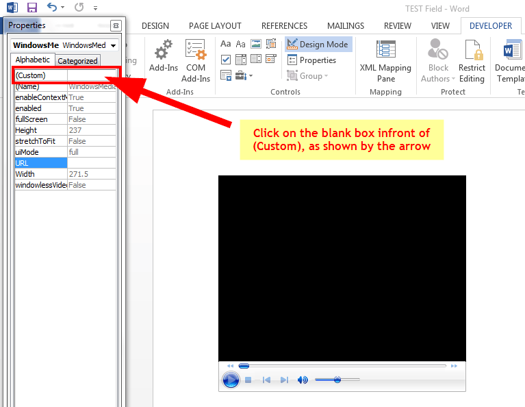 How to Add Online and Offline Videos to Word Documents