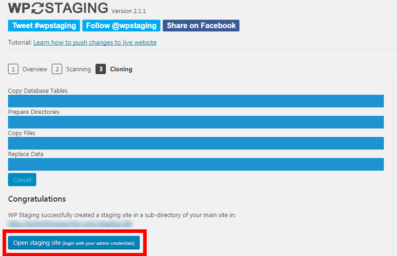 Staging-Site-for-WordPress-Plugin
