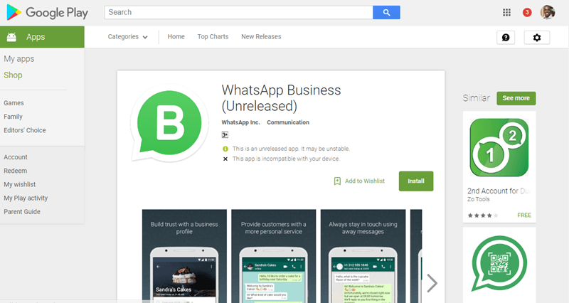 whatsapp-business-play-store-testers