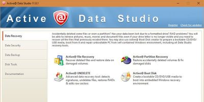 Active@ Data Studio – Essential PC Tools All in One Place