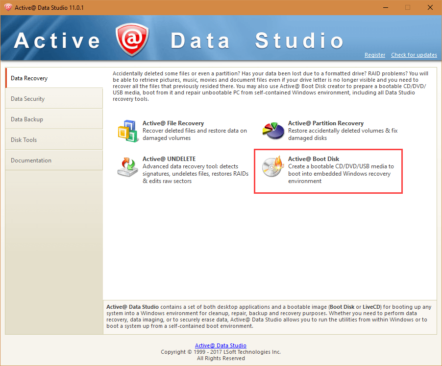 active-data-studio-select-boot-disk