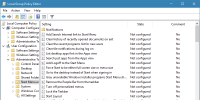How to Back Up Local Group Policy Editor Settings in Windows 10