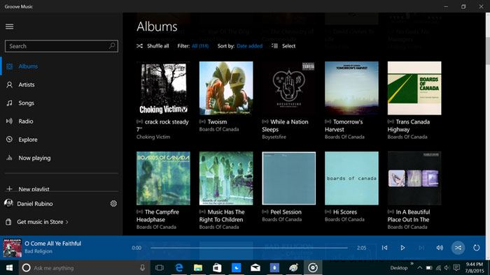 best-music-player-for-windows-groove-music