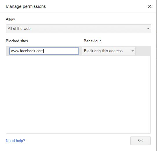 how-to-block-websites-on-chrome-supervised-blocklist