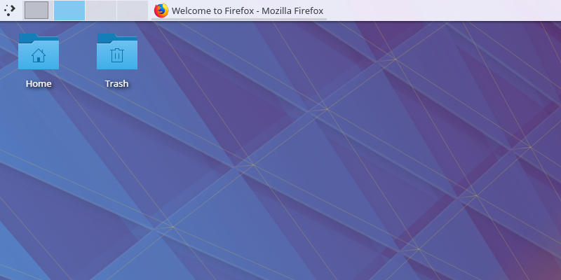 KDE Plasma Pager