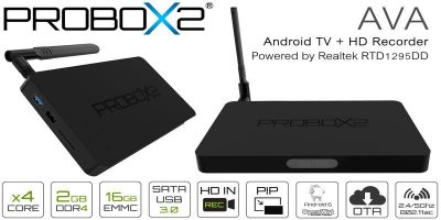 Probox2 AVA Android 6.0 TV Box and HD Recorder Review