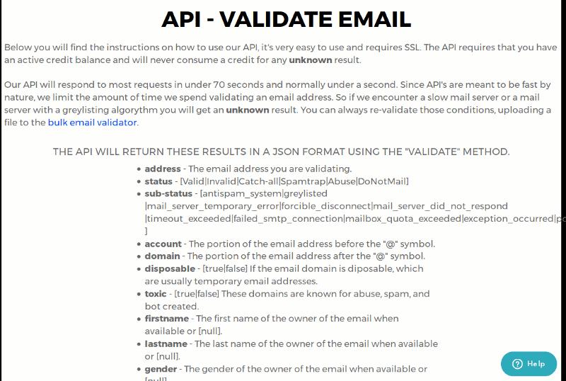zerobounce-api-validate-email