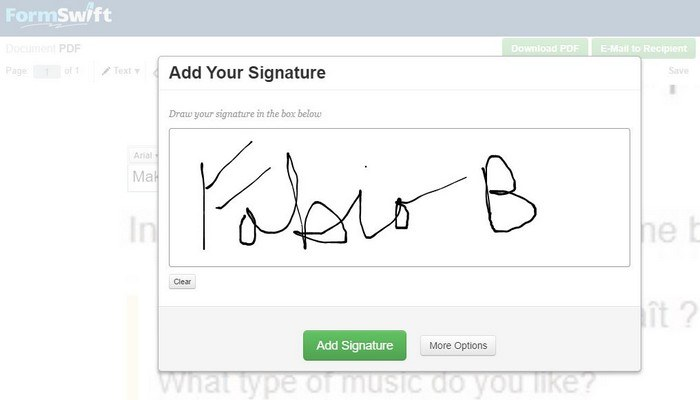 make signature online