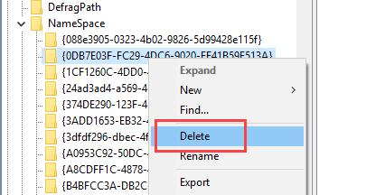 delete-3d-objects-folder-win10-delete-second-key