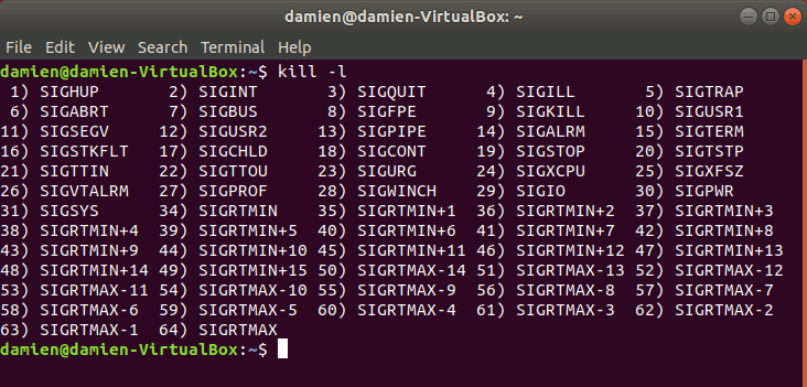linux-kill-list-command