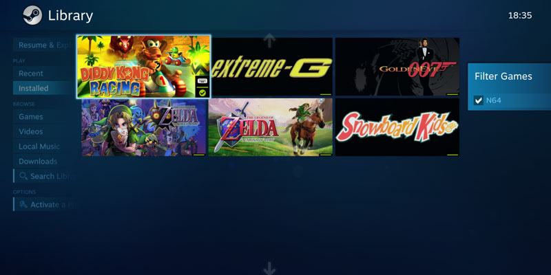 How to Run Emulated Games Directly on Steam (and Steam Link) - Make