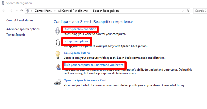 set-up-speech-recognition-windows-10