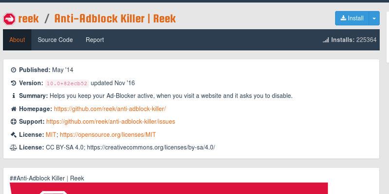 Get Anti-Adblock Killer