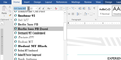 How to Embed Fonts in Microsoft Word