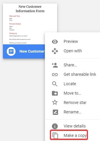 google-template-copy