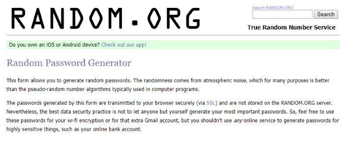 passwords-online-random