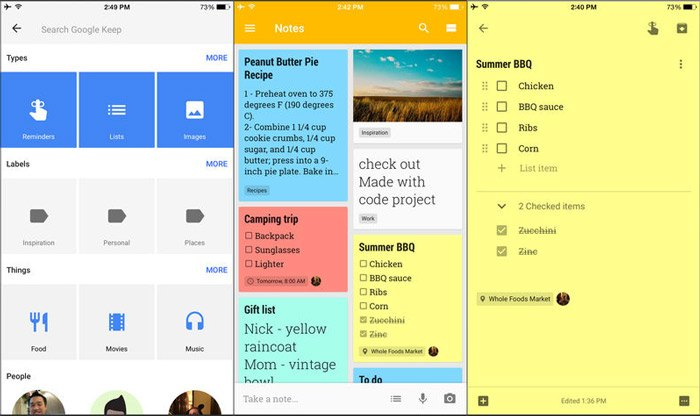 best-ios-note-taking-app-2018-google-keep