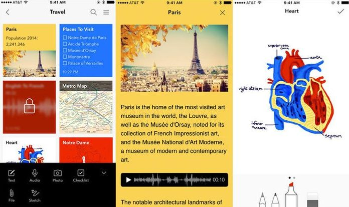 best-ios-note-taking-app-2018-notebook
