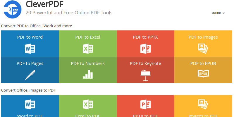 CleverPDF: Your One-Stop-Shop For PDF File Tools and Conversions