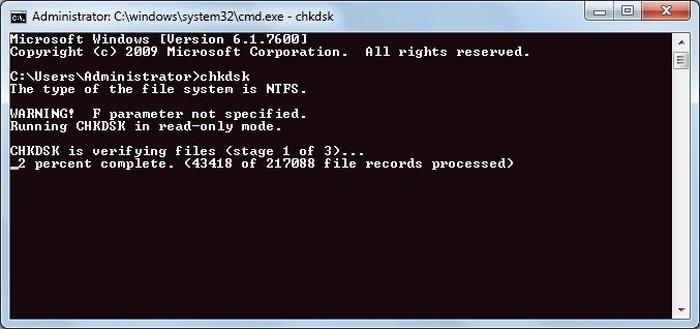 fix-windows-explorer-crashing-chkdsk-scan