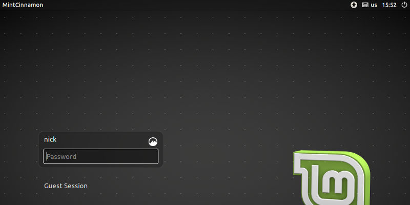 Take A Screenshot of Your Linux Login Screen
