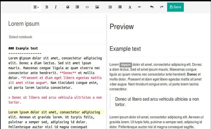 onenote-alternative-laverna