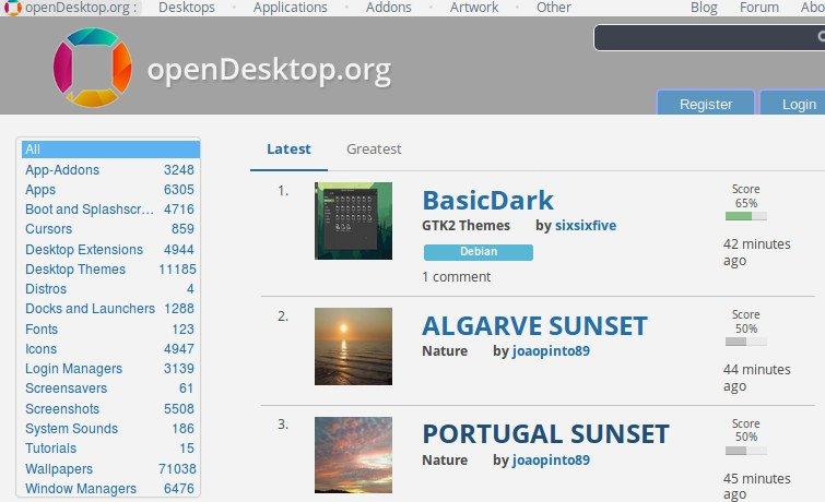 OpenDesktop.org