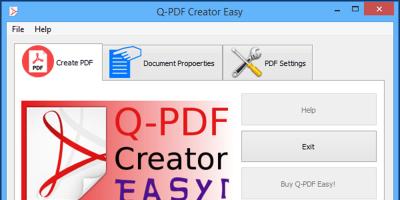 Q-PDF Creator Easy
