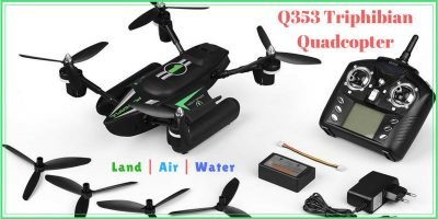 WLtoys Q353 Triphibian Quadcopter – Review and Giveaway
