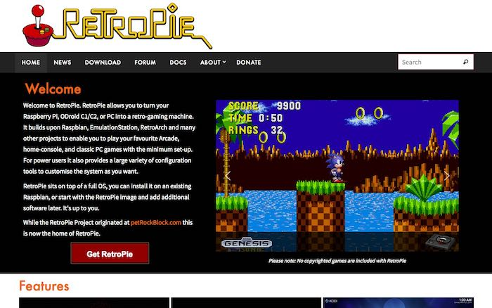 retropie-emulation-4-3-retropie-website