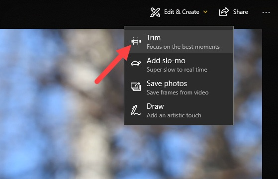 How to Trim a Video in Windows 10 without Using a Third