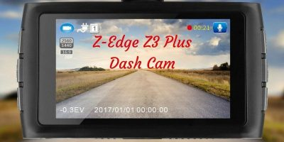 Z-Edge Z3 Plus Dash Cam – Review and Giveaway